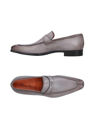 Zapatos con descuento Mocasín Santoni Hombre - Mocasines Santoni - 11410891XN Gris perla