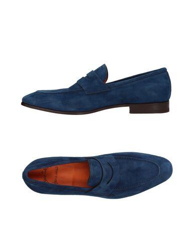 Zapatos con descuento Mocasín Santoni Hombre - Mocasines Santoni - 11410895BU Azul oscuro