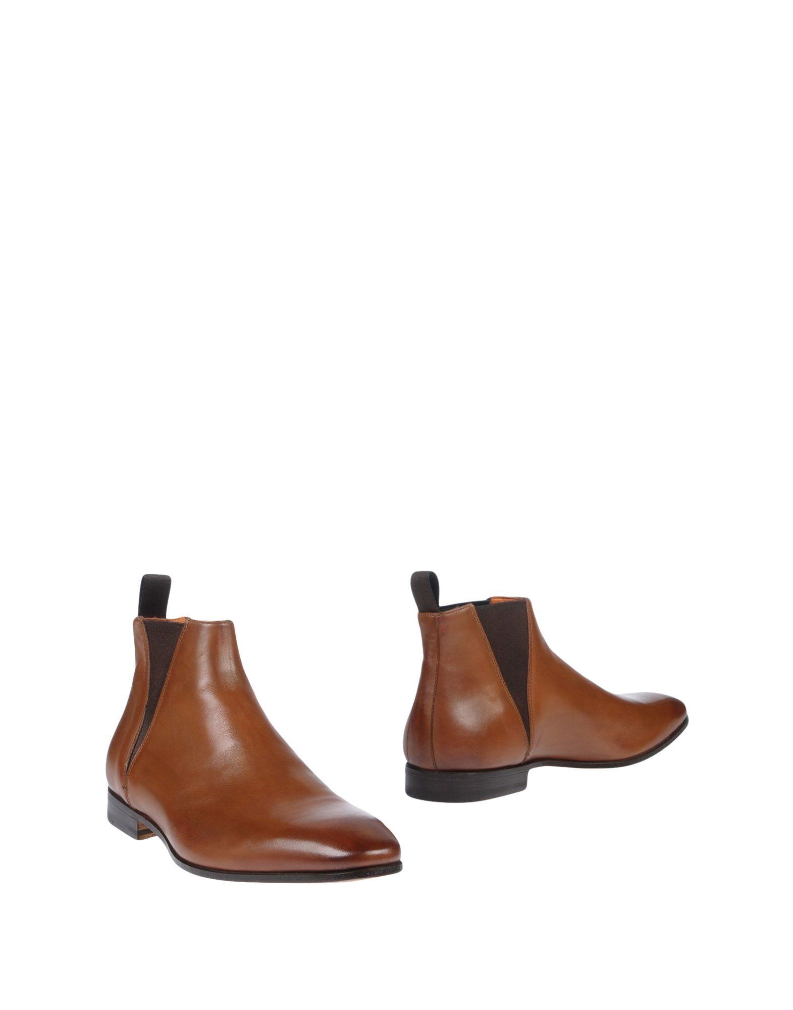Haltbare Mode billige Schuhe Santoni Stiefelette Herren  11410907LH Heiße Schuhe