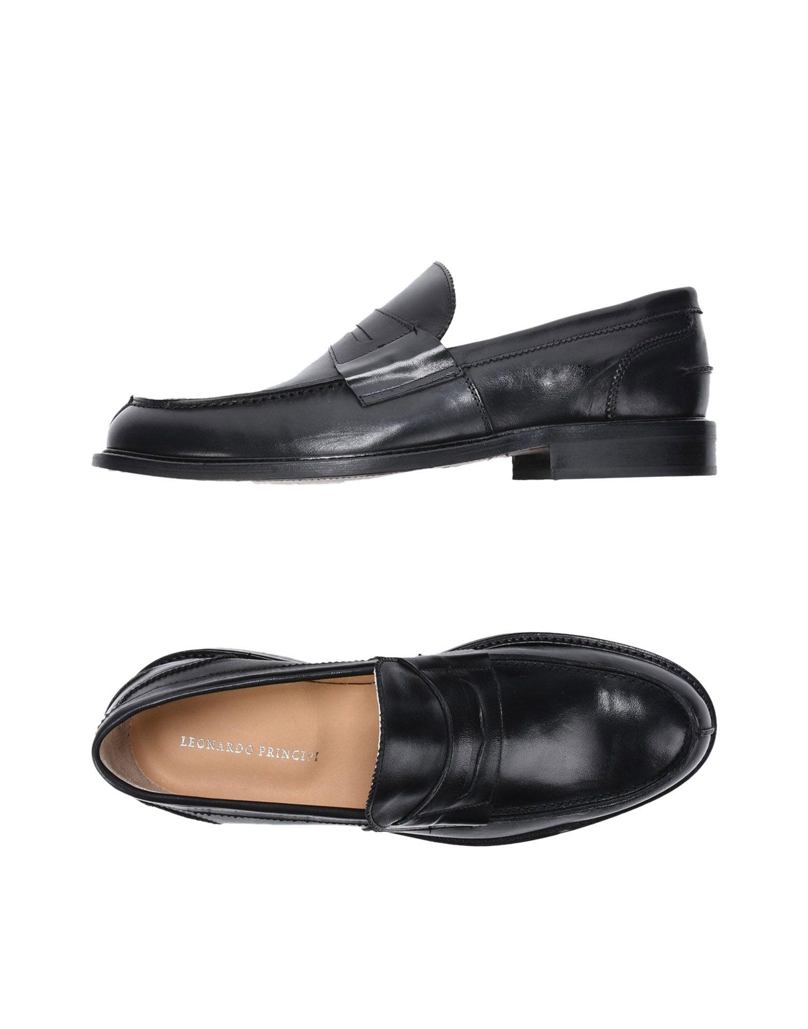 Leonardo Principi Mokassins Herren  11410927QF Neue Schuhe