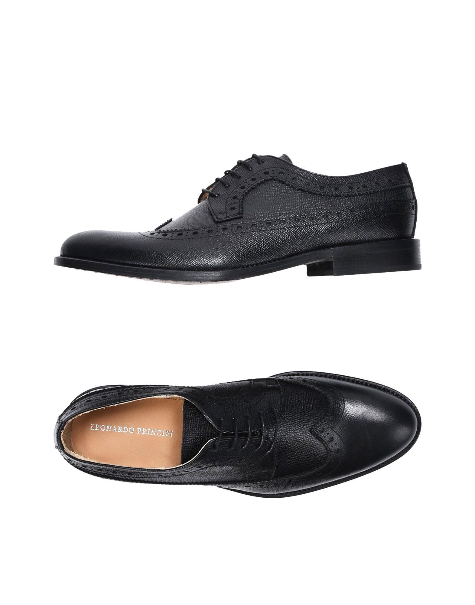 Rabatt echte Schuhe Leonardo Principi Schnürschuhe Herren  11410935TV