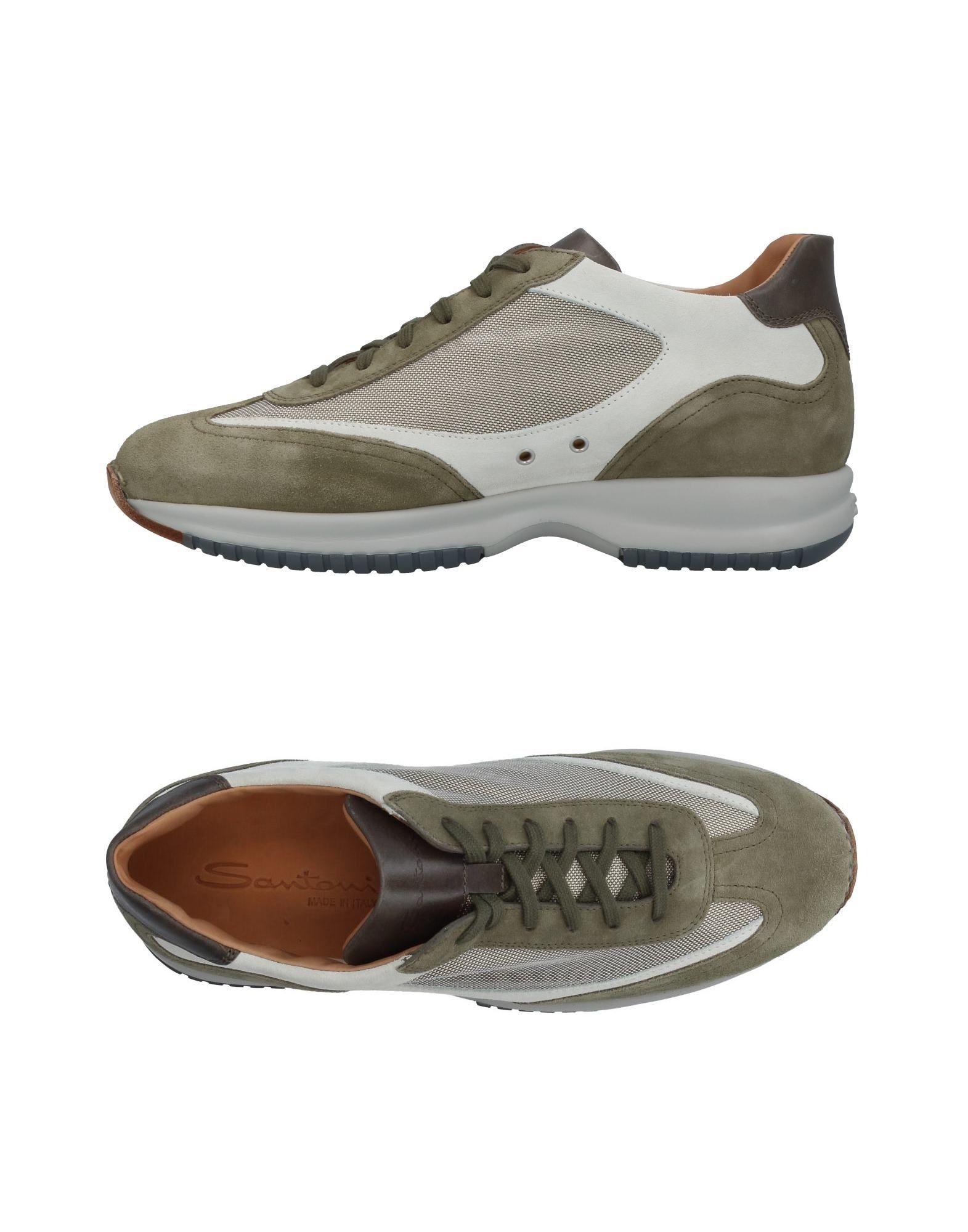 Günstige und modische Schuhe Santoni Sneakers Herren  11410955QB