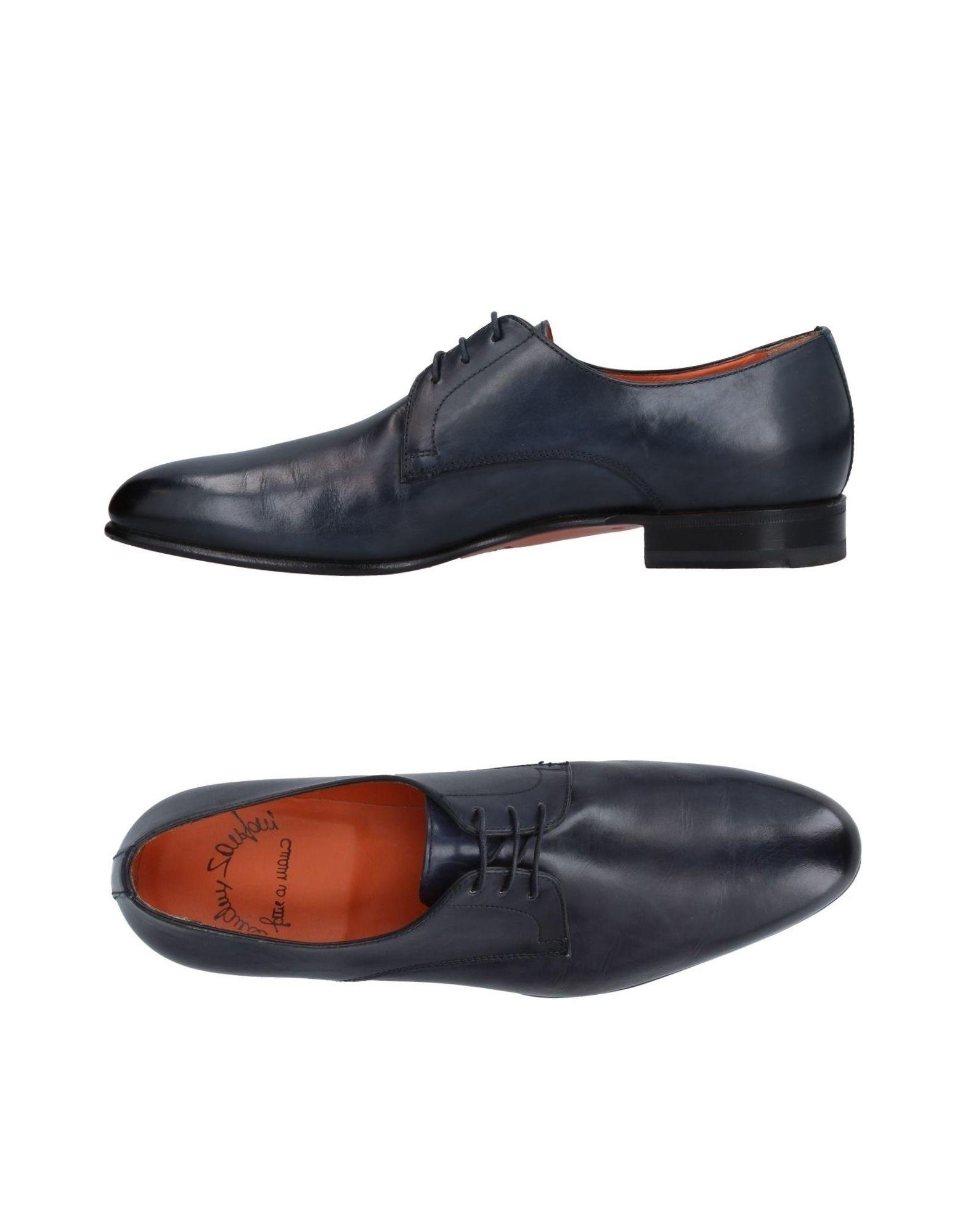 Haltbare Mode billige Schuhe Santoni Schnürschuhe Herren  11411113JA Heiße Schuhe