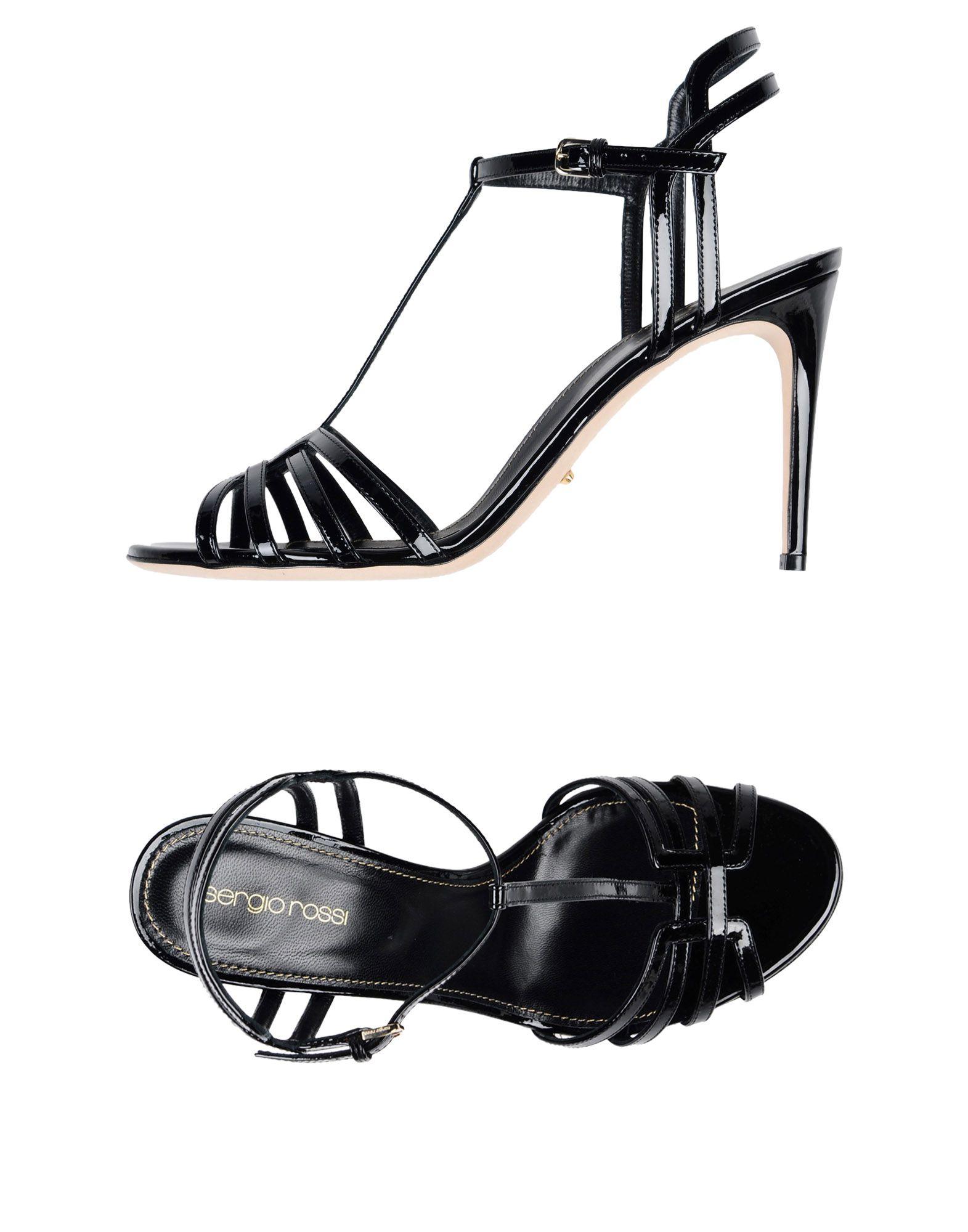 Sergio Rossi Sandalen Damen  11411720MTGut aussehende strapazierfähige Schuhe
