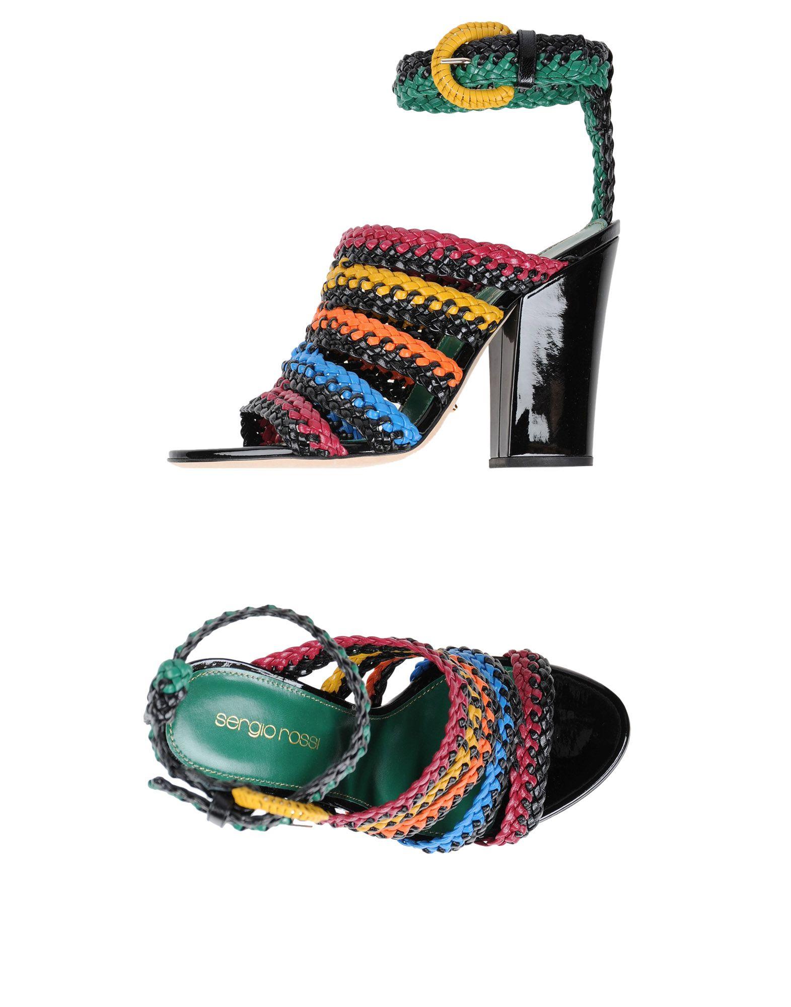 Sergio Rossi Sandalen Damen  11411907RAGut aussehende strapazierfähige Schuhe