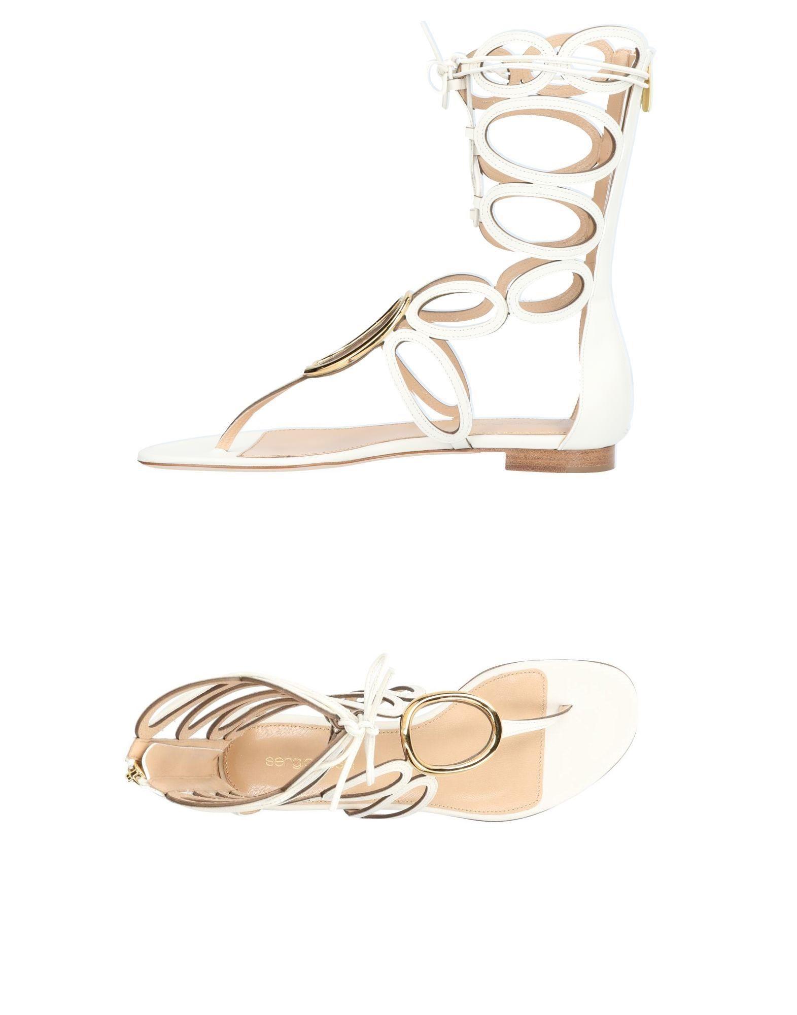 Sergio Rossi Dianetten Damen  11412027XFGünstige gut aussehende Schuhe