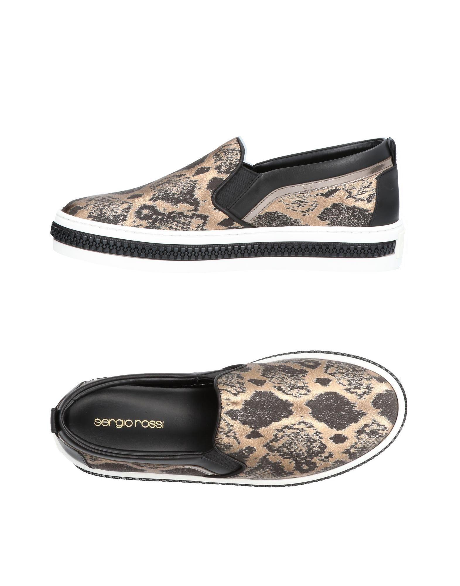 Stilvolle billige Schuhe Sergio Rossi Sneakers Damen  11412069FR