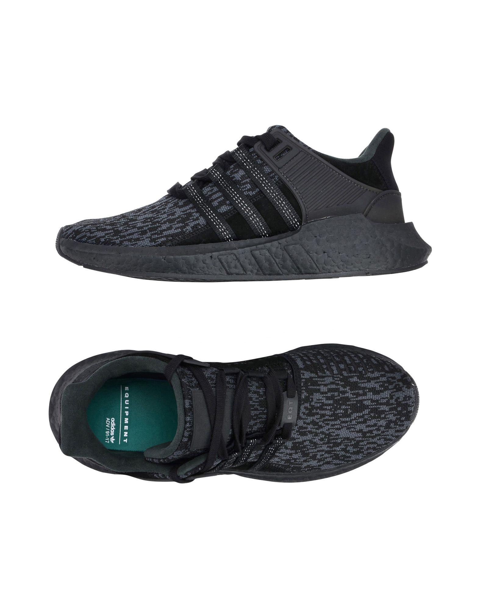 Baskets Adidas Originals Eqt Support 93 17 - Homme - Baskets Adidas Originals  Noir Meilleur modèle de vente
