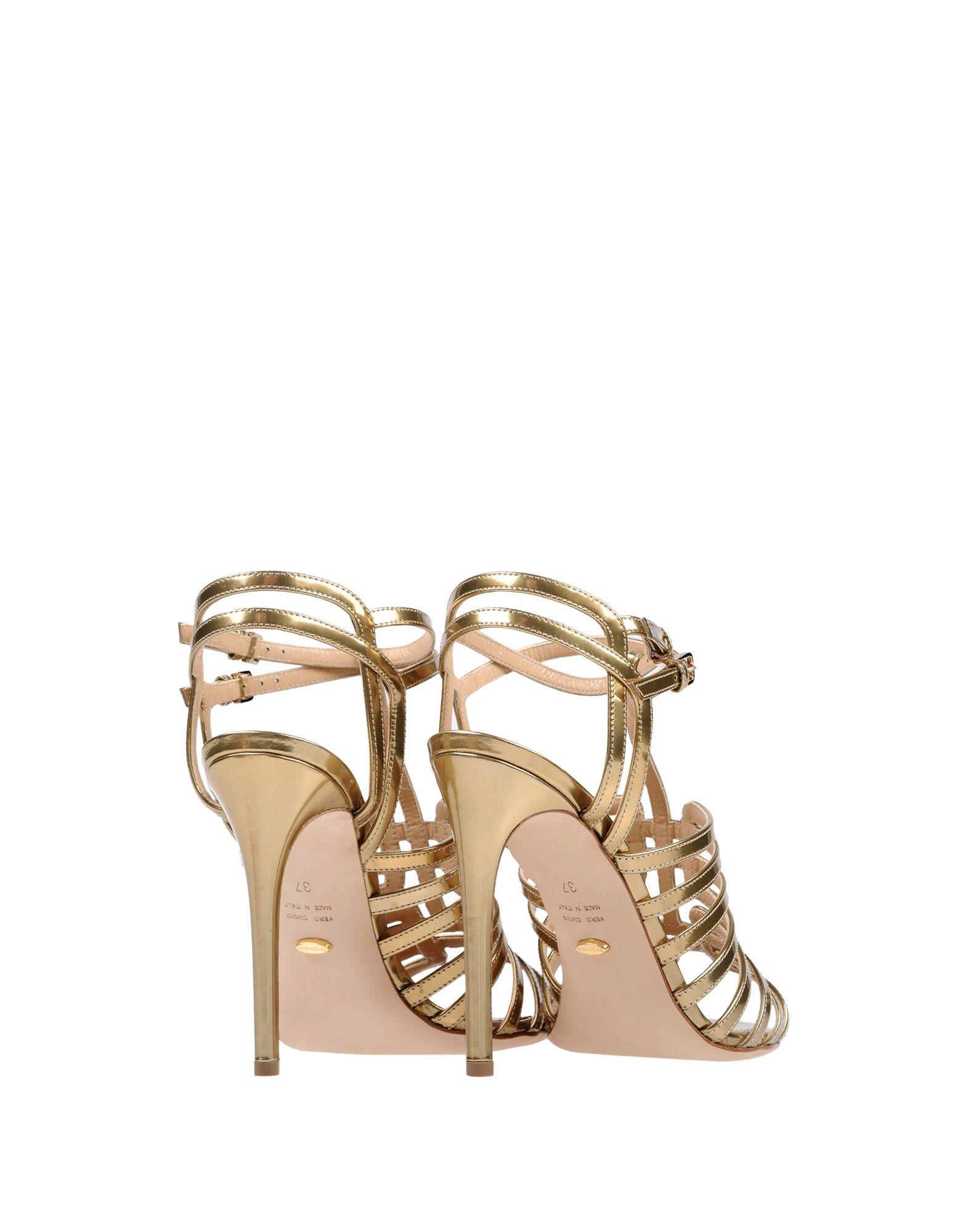 Rabatt Schuhe Sergio Rossi Sandalen Damen  11412603FN