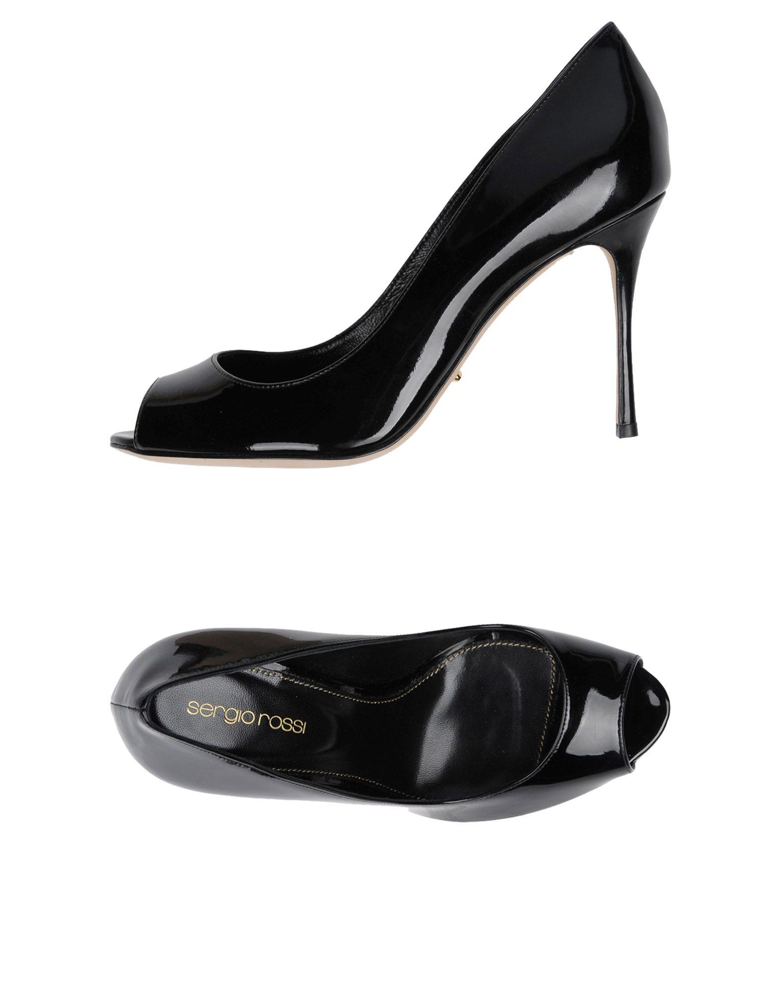 Escarpins Sergio Rossi Femme - Escarpins Sergio Rossi Noir Les chaussures les plus populaires pour les hommes et les femmes