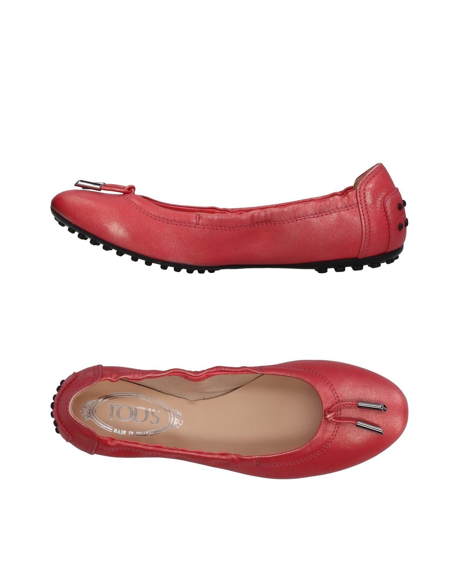 Haltbare Mode billige Schuhe Tod's Ballerinas Damen  11412772BM Heiße Schuhe
