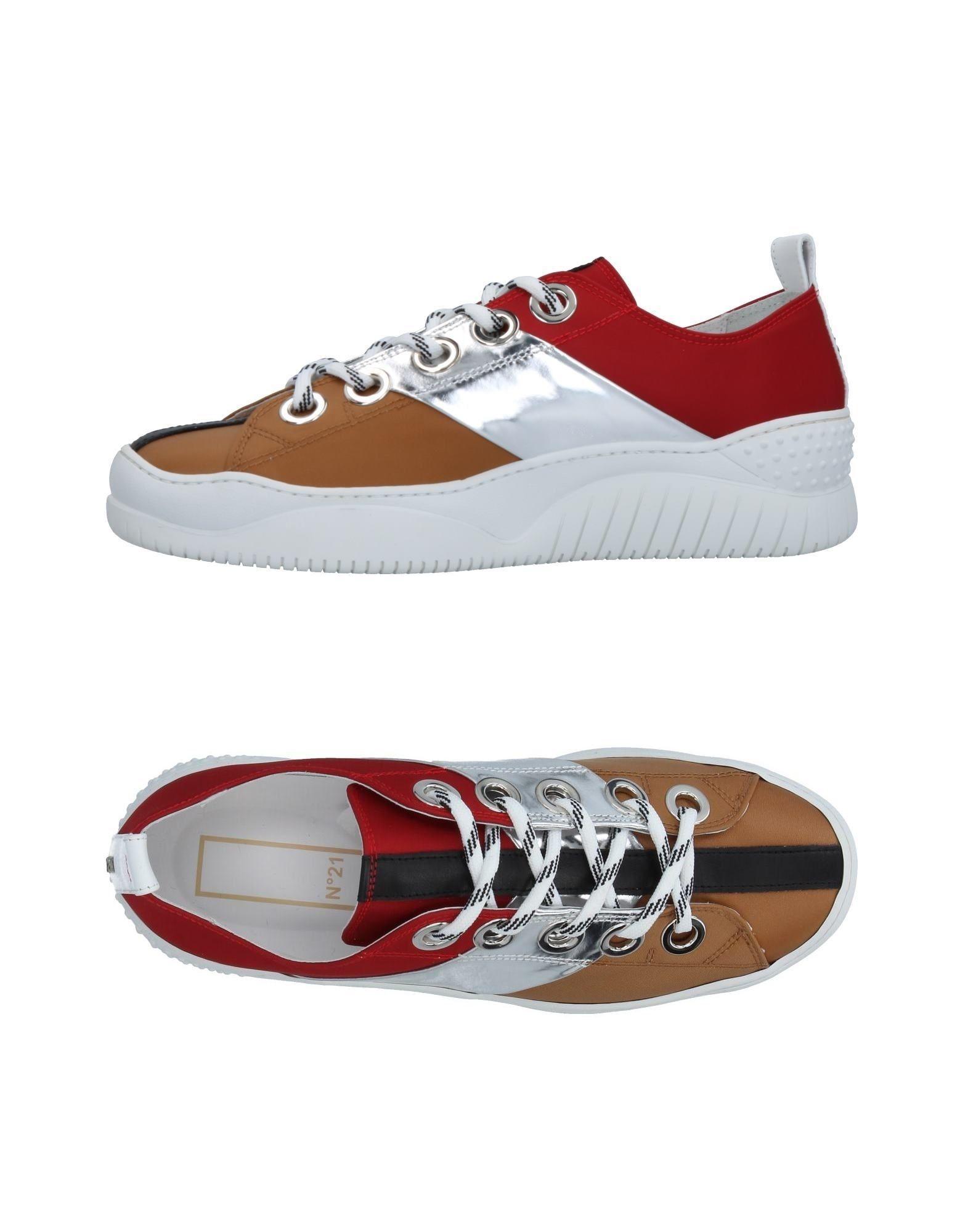 Rabatt echte Schuhe N° 21 Sneakers Herren  11413275KA