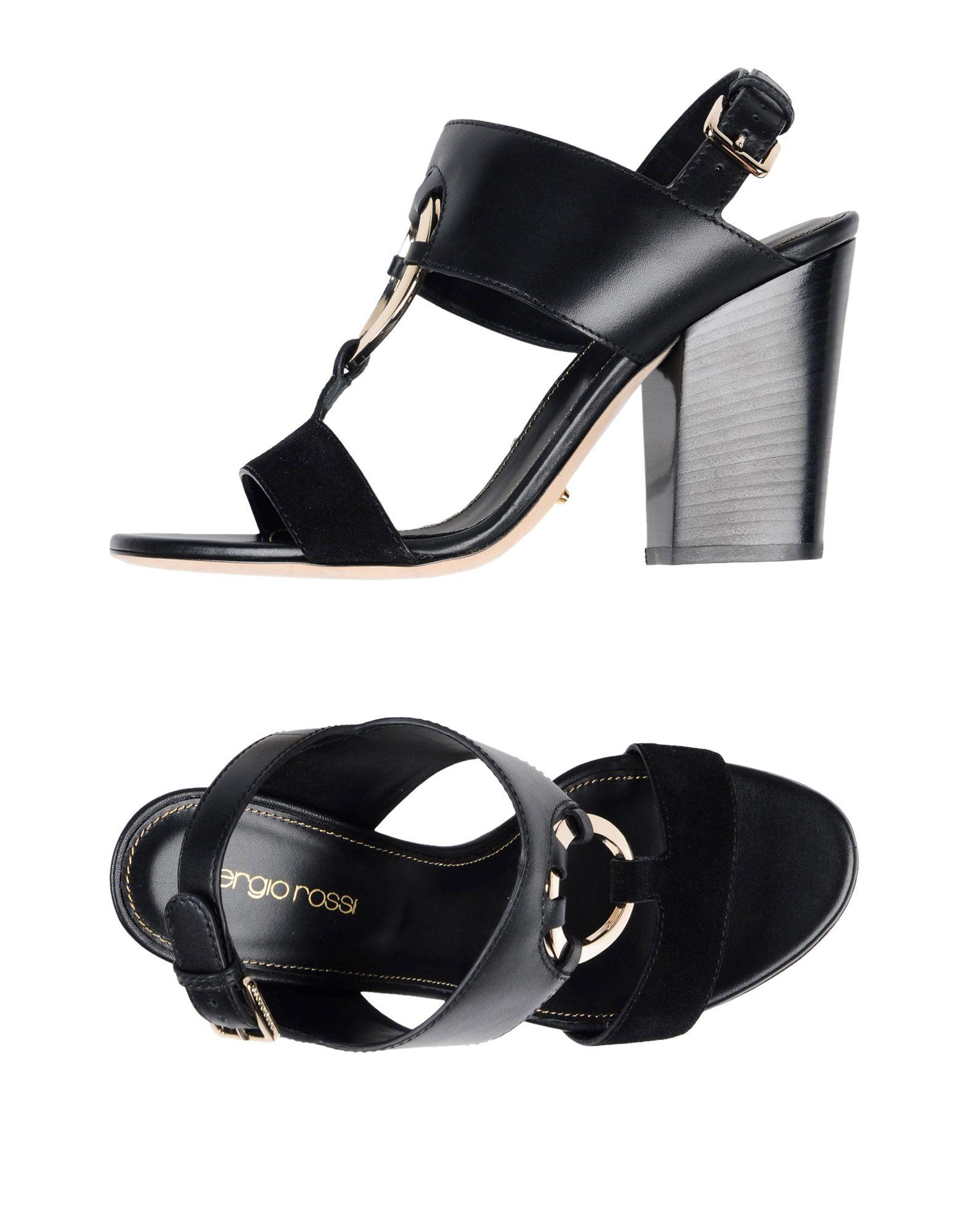 Sergio Rossi Sandalen Damen  11413315WNGünstige gut aussehende Schuhe