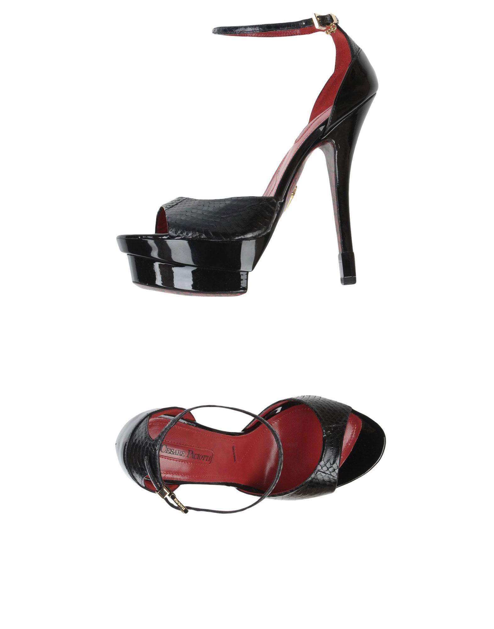 Cesare Paciotti Sandalen Damen  11413404AXGut aussehende strapazierfähige Schuhe