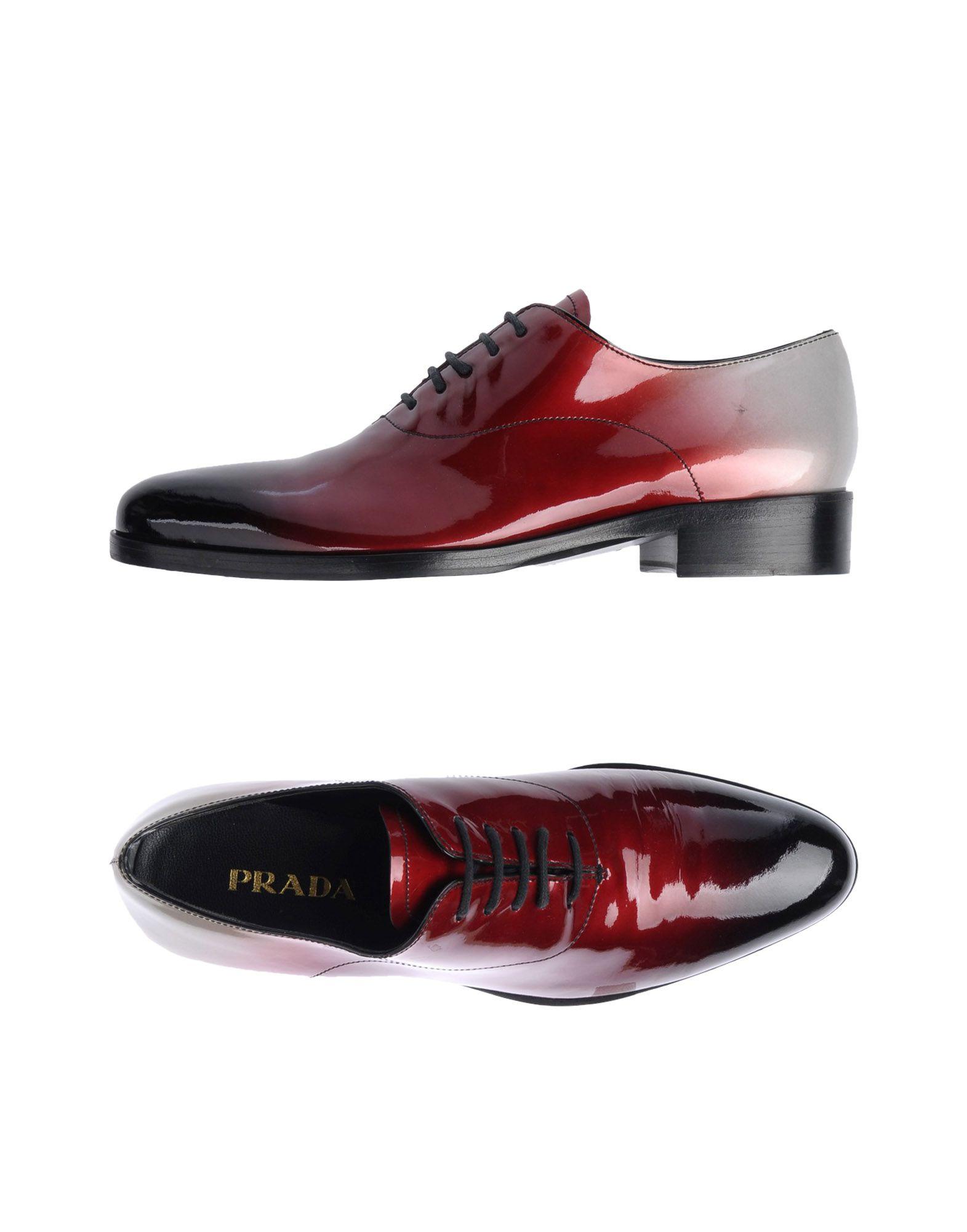Chaussures À Lacets Prada Femme - Chaussures À Lacets Prada sur