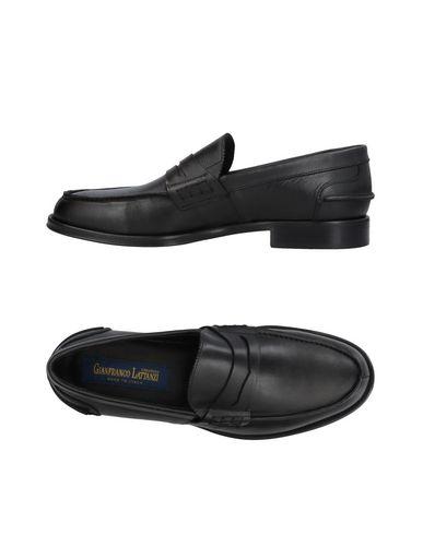 Zapatos con Hombre descuento Mocasín Gianfranco Lattanzi Hombre con - Mocasines Gianfranco Lattanzi - 11414152VQ Negro 8c9147