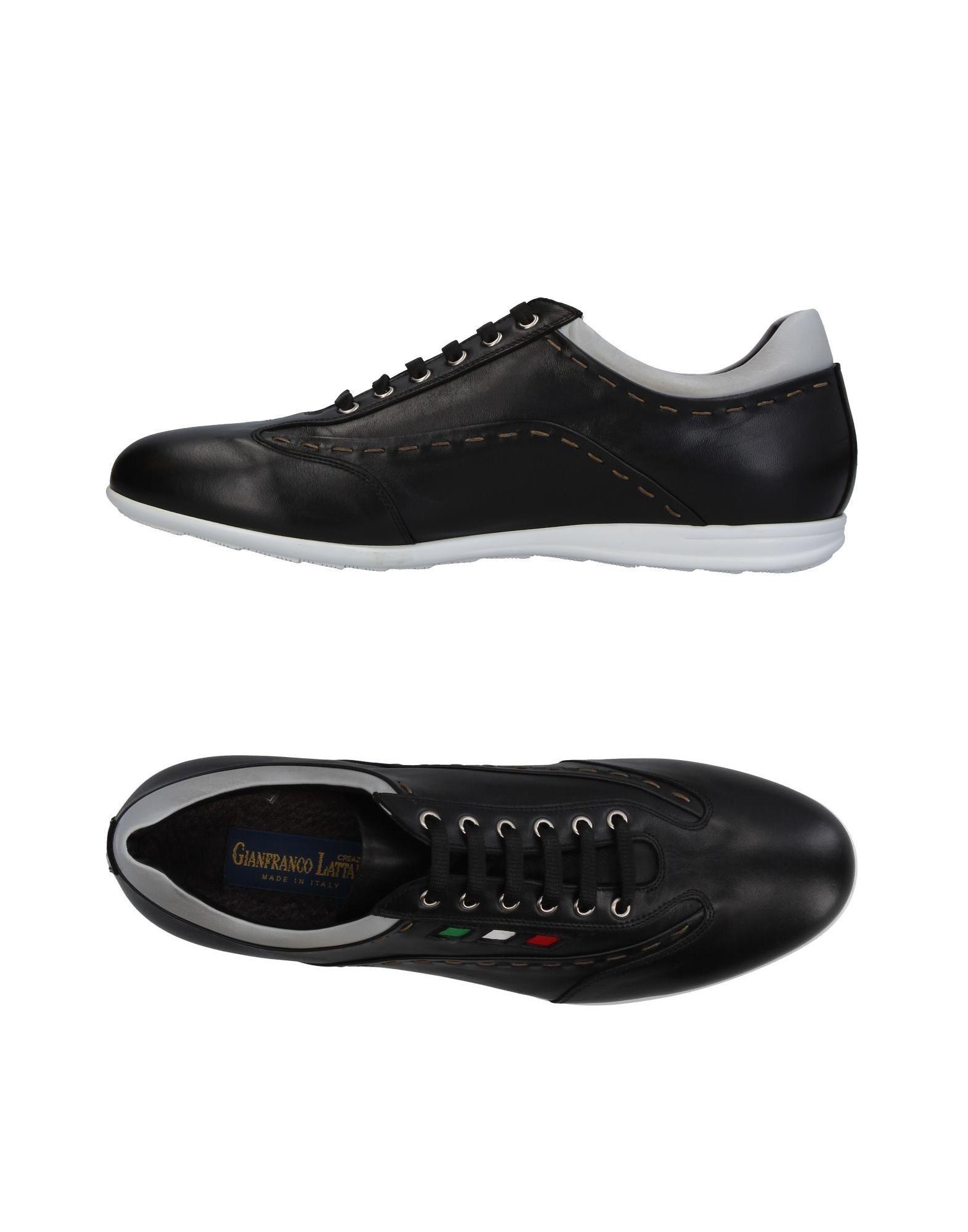 Sneakers Gianfranco Lattanzi Homme - Sneakers Gianfranco Lattanzi  Noir Chaussures casual sauvages