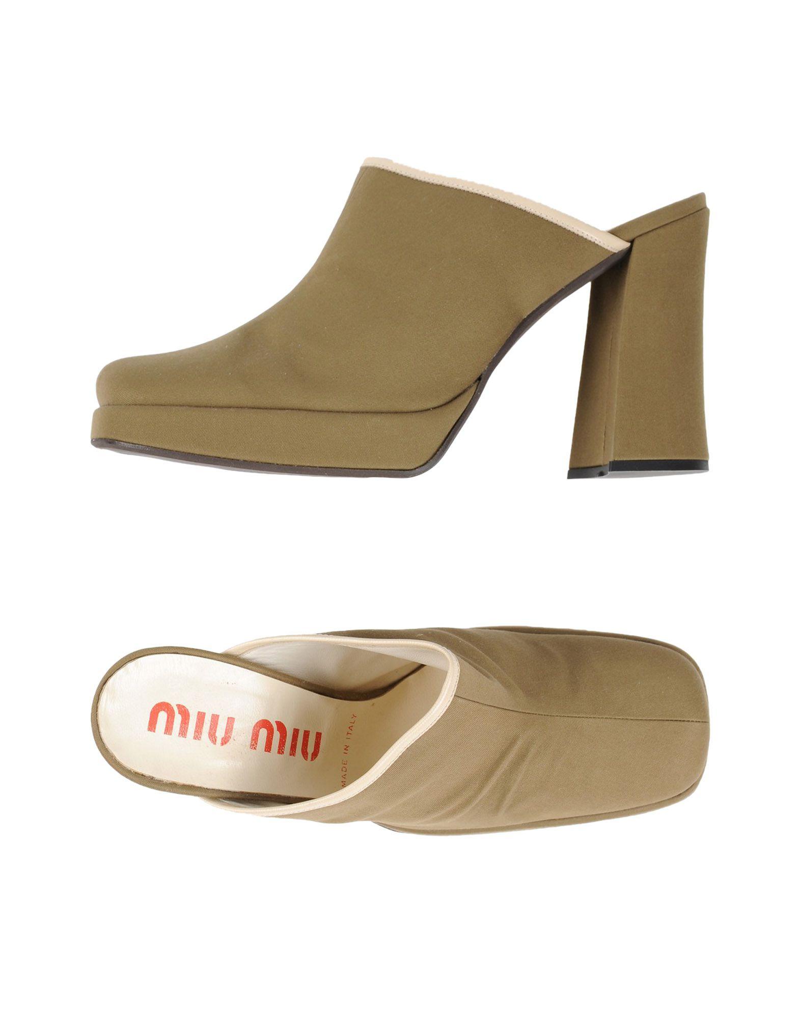Mule Miu Miu Donna - Acquista online su