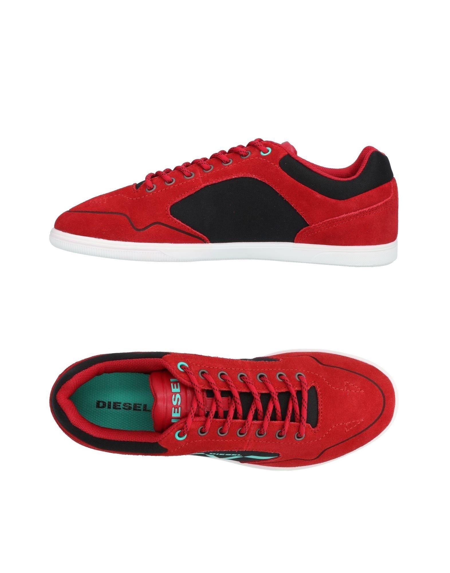 Baskets Diesel Homme - Baskets Diesel  Rouge Nouvelles chaussures pour hommes et femmes, remise limitée dans le temps