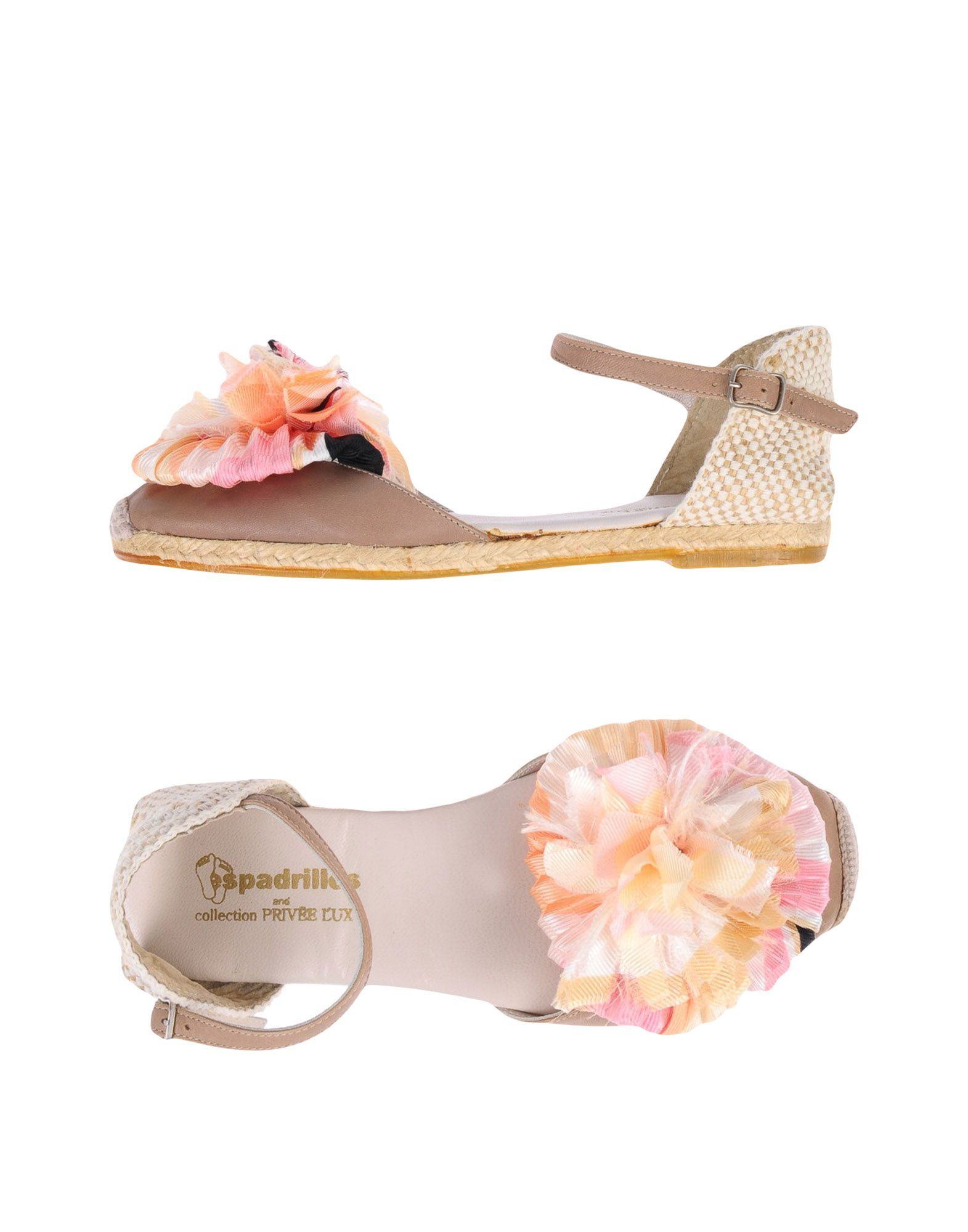 Sandales Espadrilles And Collection Privēe Lux? Femme - Sandales Espadrilles And Collection Privēe Lux? sur
