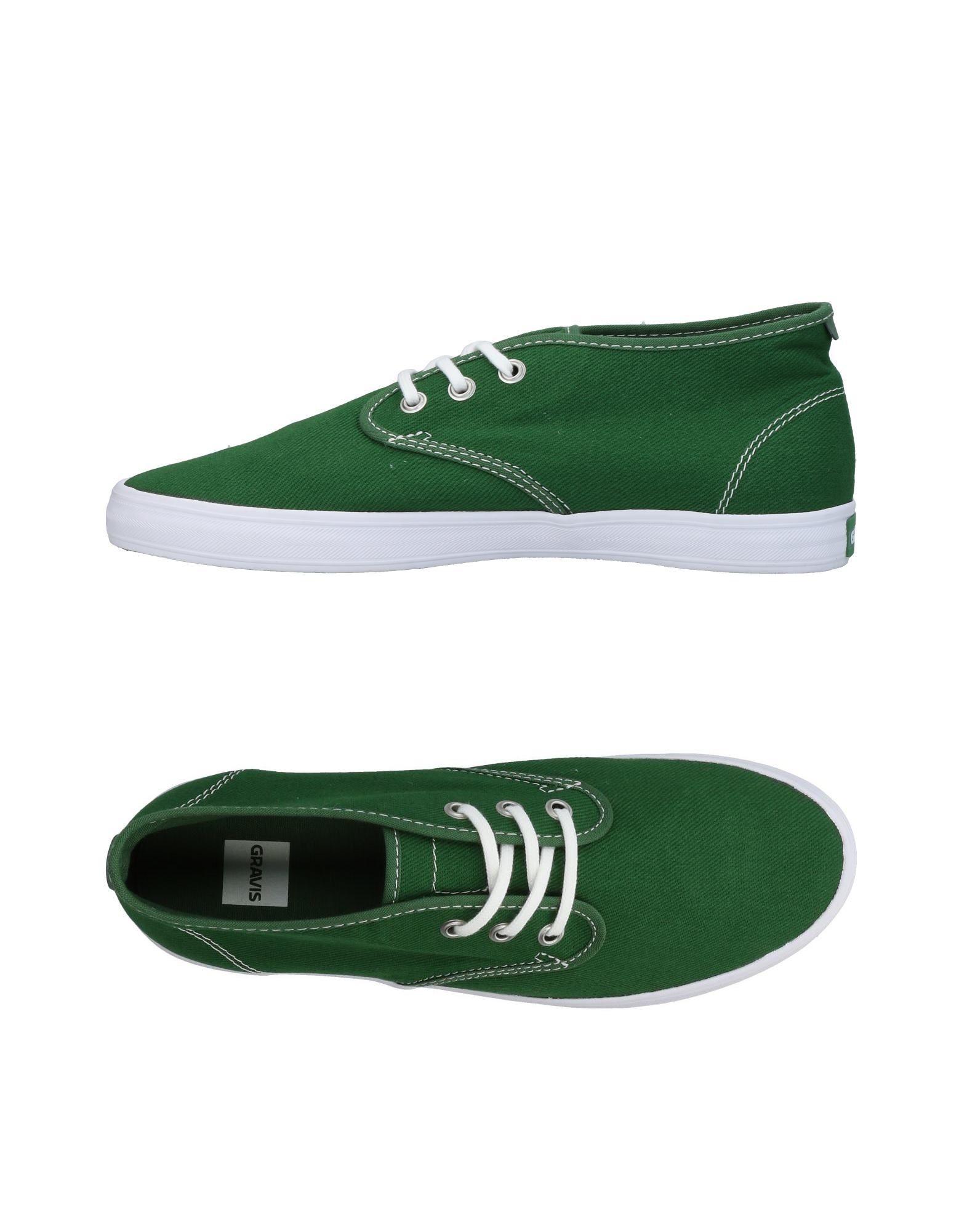 Sneakers Gravis Homme - Sneakers Gravis  Vert Chaussures femme pas cher homme et femme