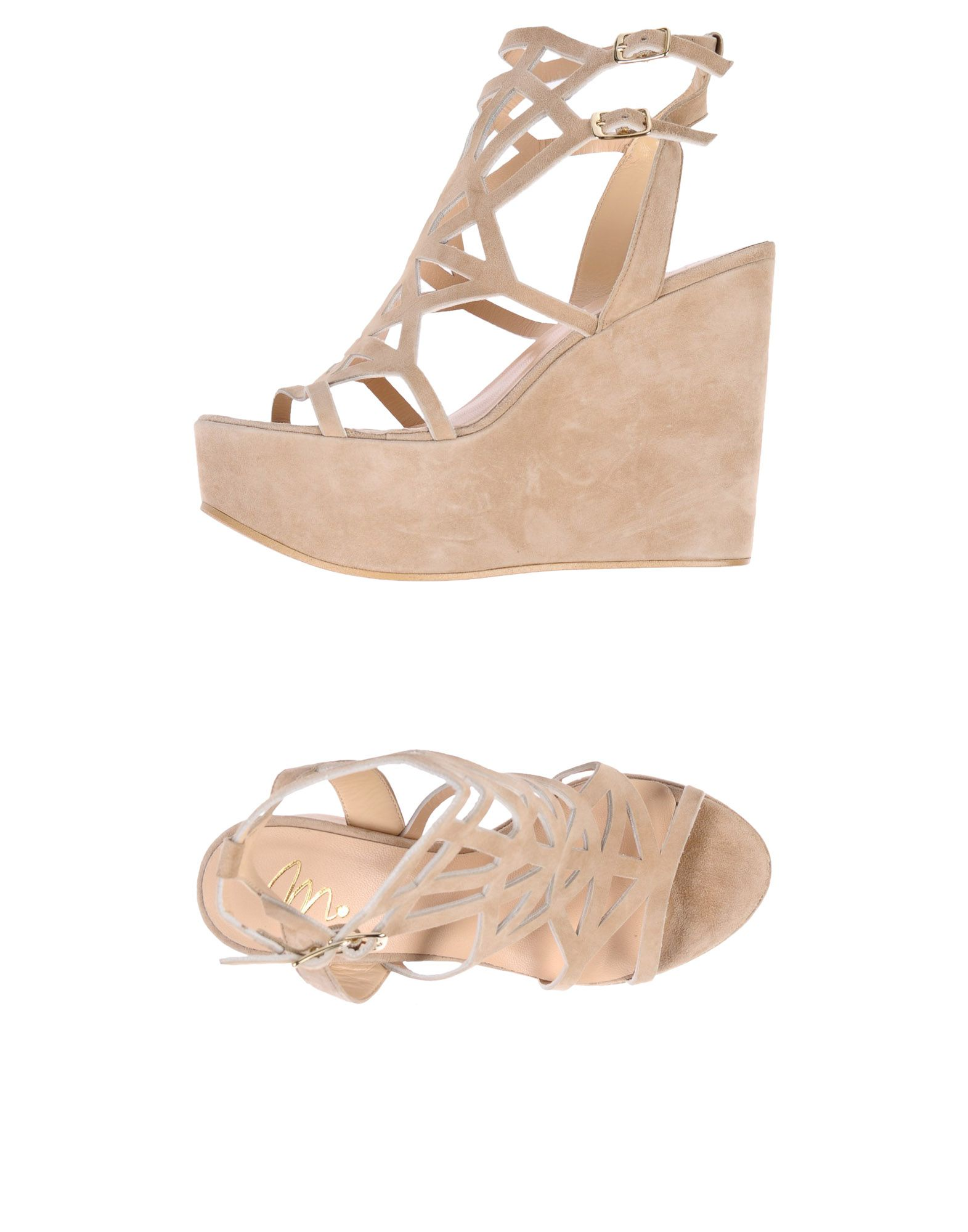 Stilvolle billige Schuhe Monnalisa Sandalen Damen  11416647EE