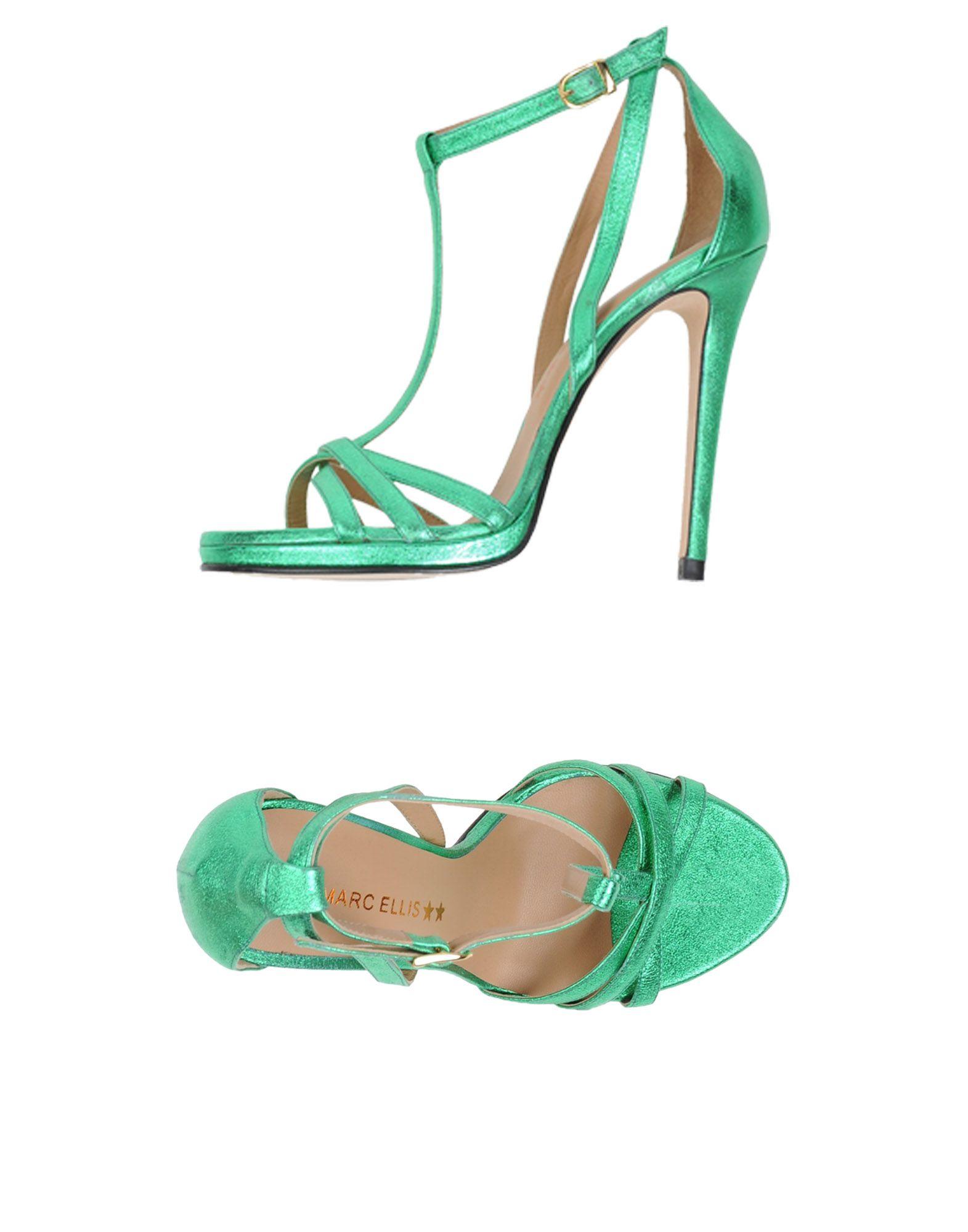 Stilvolle billige Schuhe Marc Ellis Sandalen Damen  11416908UP