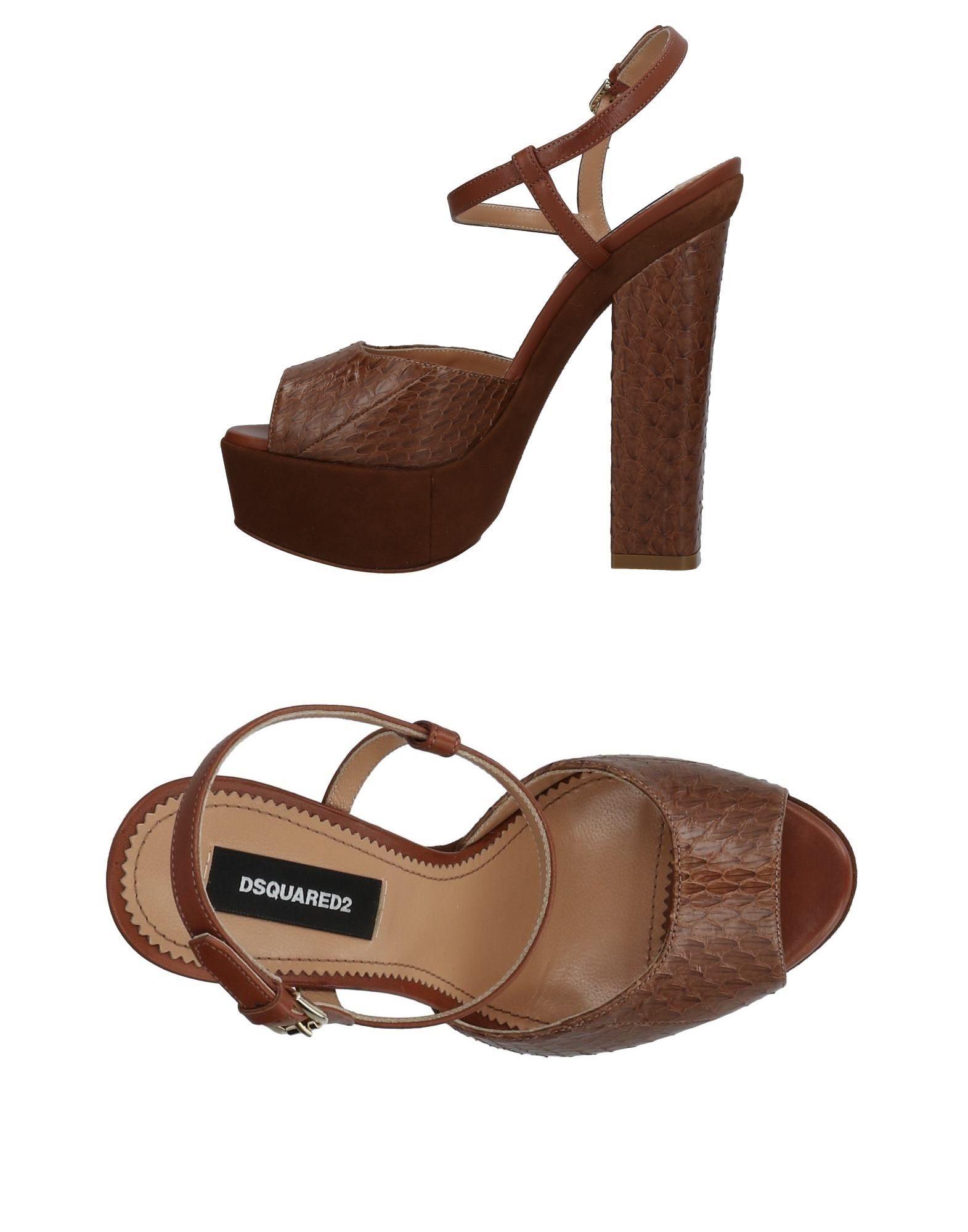 Haltbare Mode billige Schuhe Dsquared2 Sandalen Damen  11417008XB Heiße Schuhe