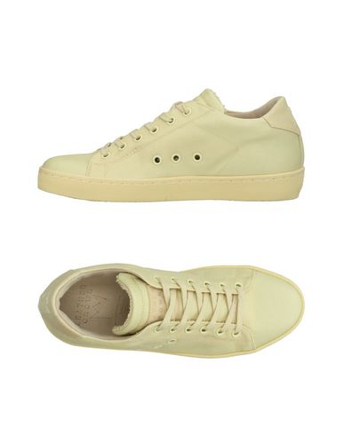 Leather Crown Sneakers Donna Scarpe Giallo