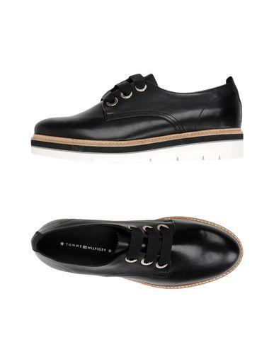 Tiempo limitado especial Zapato De Cordones Tommy Hilfiger Mujer - Zapatos De Cordones Tommy Hilfiger   - 11417561XL Negro