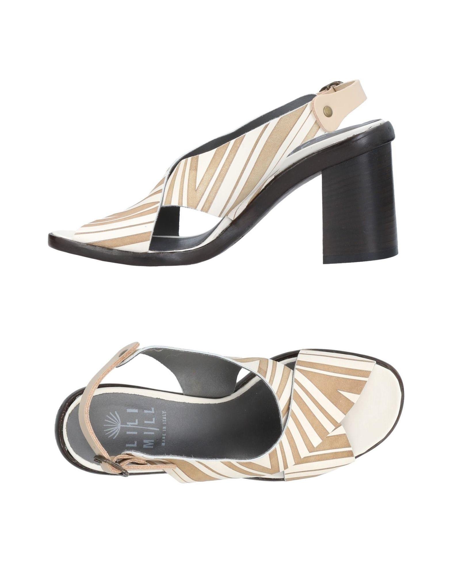 Günstige und modische Schuhe Lilimill Sandalen Damen  11417729VM