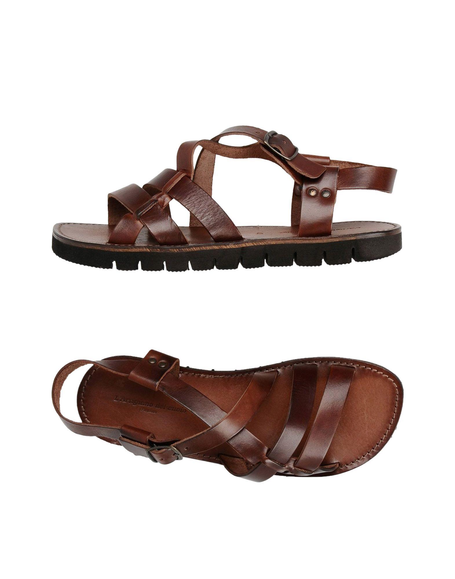 Rabatt echte Schuhe L'artigiano Del Cuoio Sandalen Herren  11417943JB