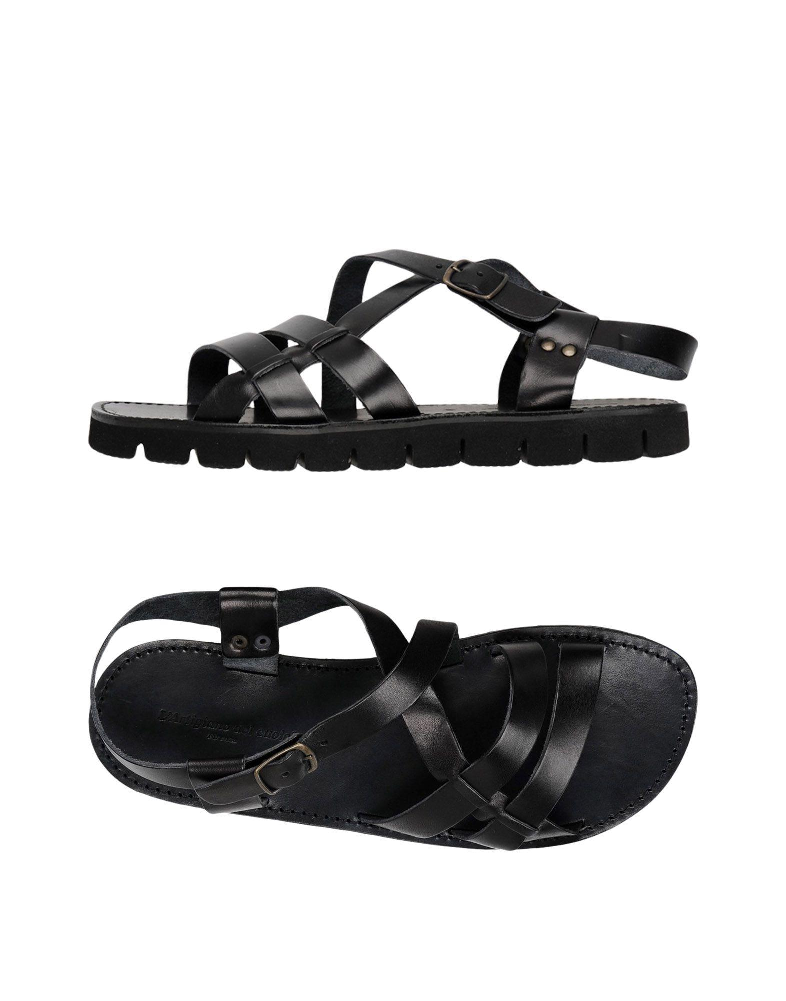 Rabatt echte Schuhe L'artigiano Del Cuoio Sandalen Herren  11417943TL