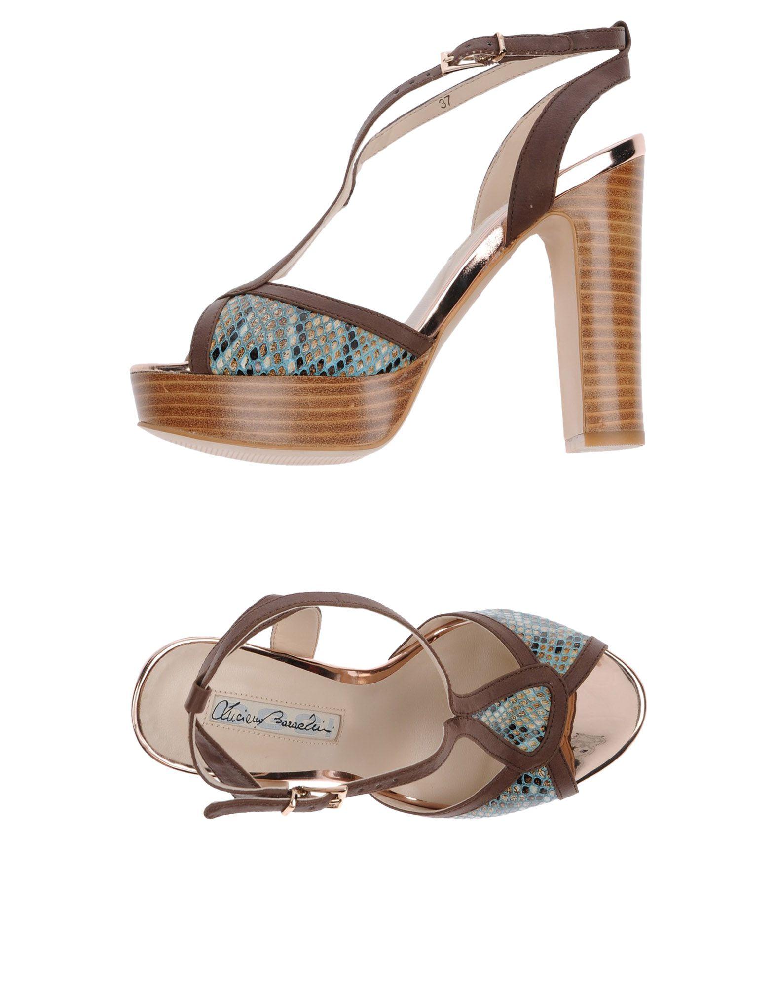Luciano Barachini Sandalen Damen  11417954EV Gute Qualität beliebte Schuhe