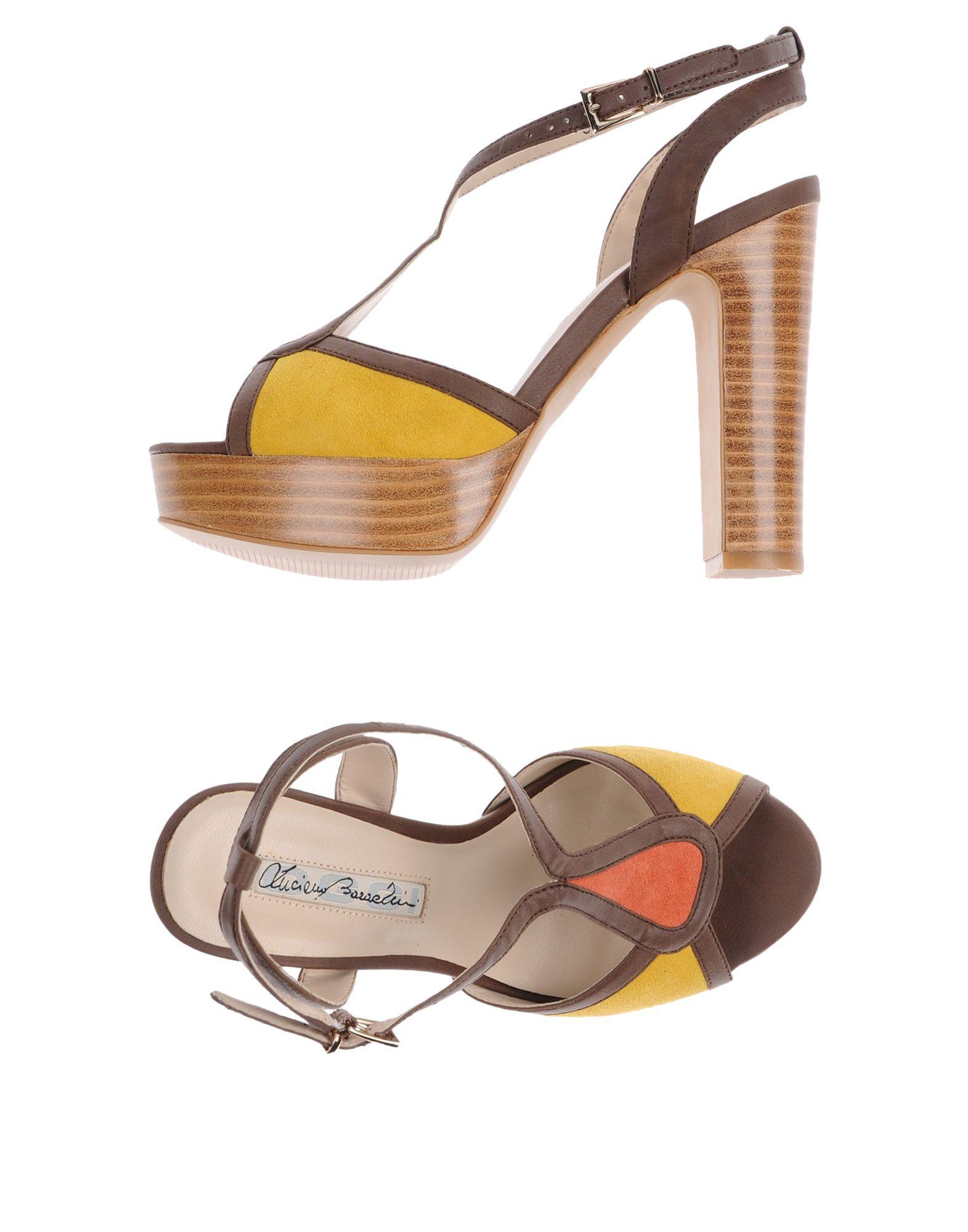 Luciano Barachini Sandalen Damen  11417981OE Gute Qualität beliebte Schuhe