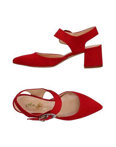 Descuento De de la marca Zapato De Descuento Salón An.Gi Mujer - Salones An.Gi - 11418040MV Rojo 444b87