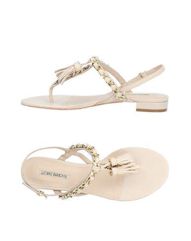 Zapatos de de mujer baratos zapatos de Zapatos mujer Sandalias De Dedo Luciano Barachini Mujer - Sandalias De Dedo Luciano Barachini - 11418042FS Beige f60fc2