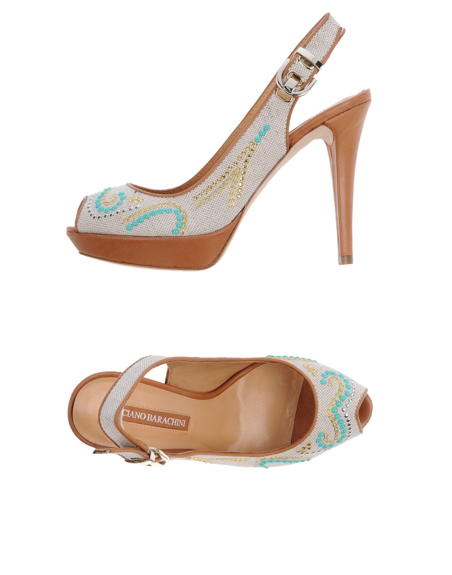 Luciano Barachini Sandalen Damen  11418147UV Gute Qualität beliebte Schuhe