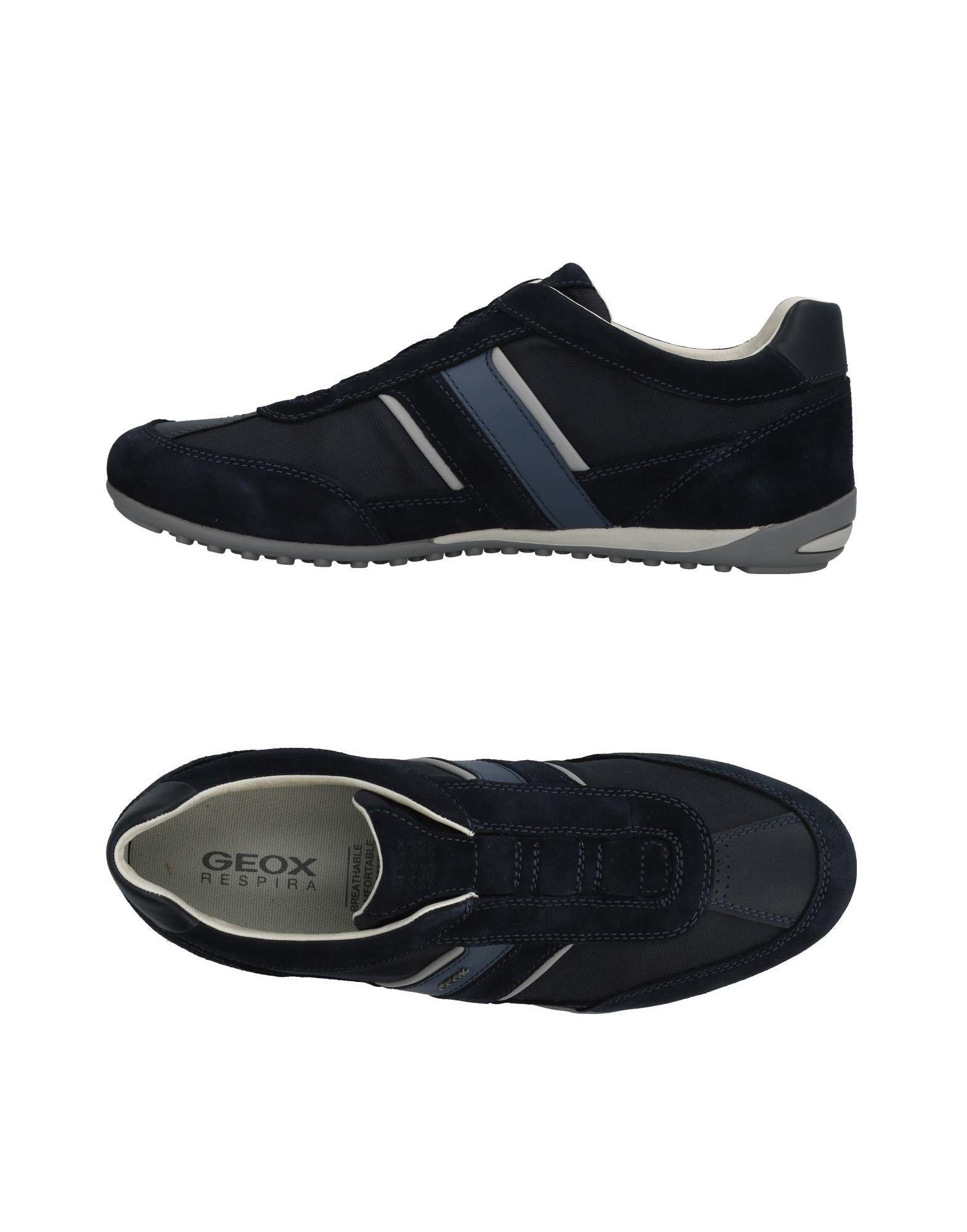 Sneakers Geox Homme - Sneakers Geox  Plomb Super rabais