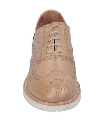 À Lacets Nero Chaussures Camel Giardini qRW8F6