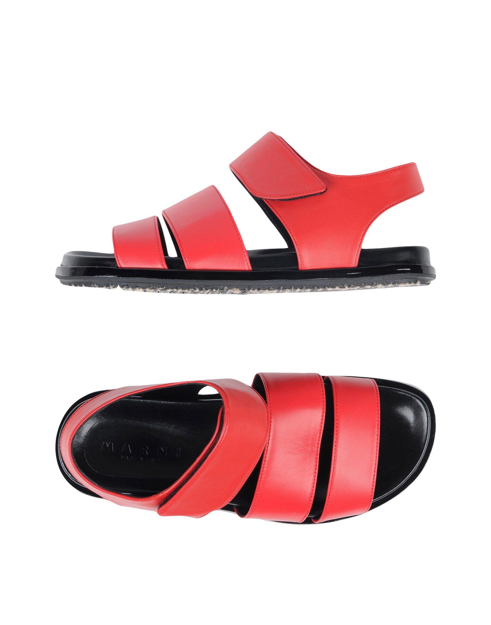 Marni Sandalen Damen Heiße  11418286PW Heiße Damen Schuhe 44496e