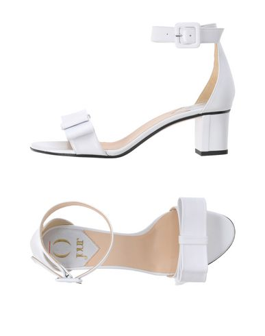 O JOUR Sandals in White
