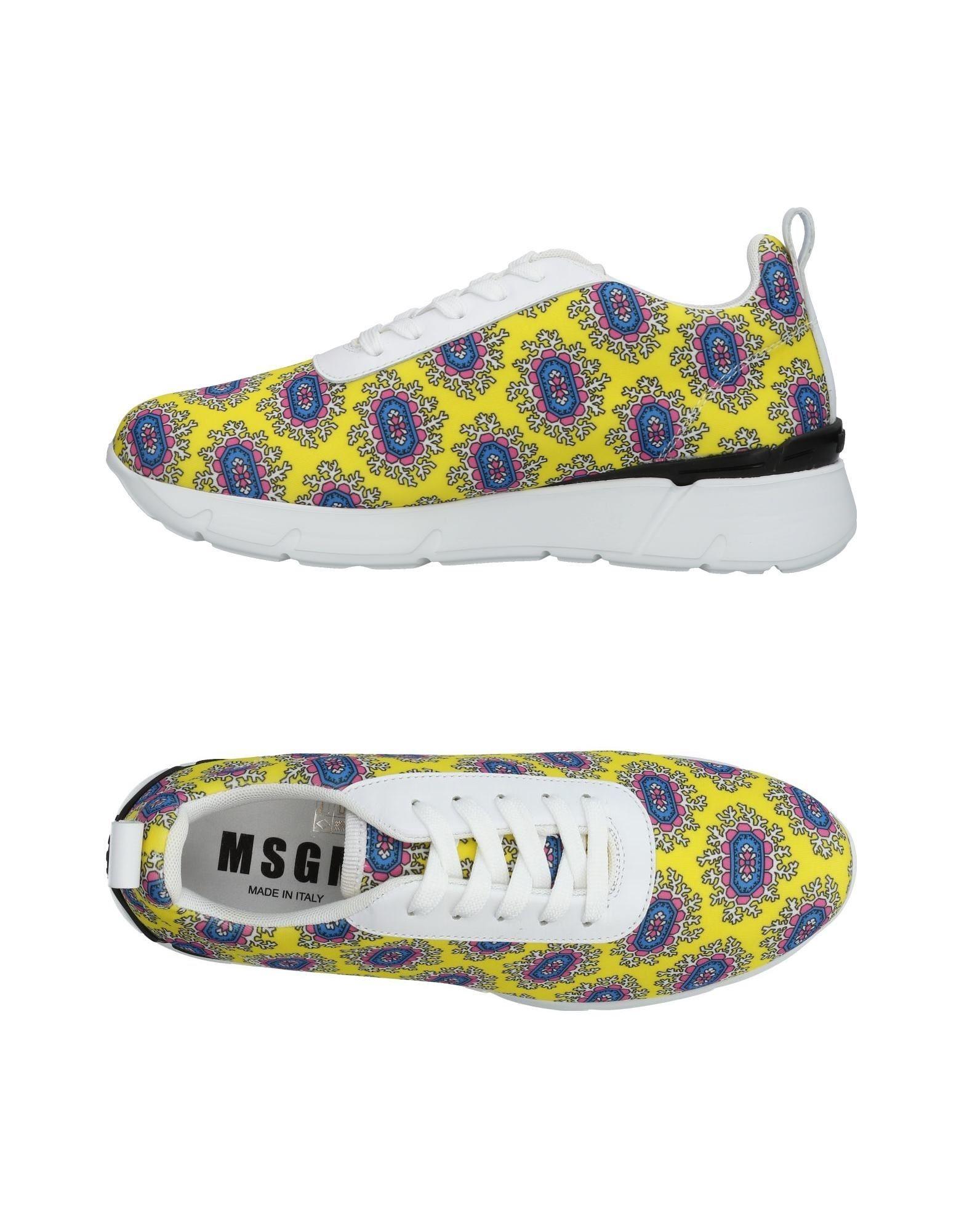 Gran descuento - Zapatillas Msgm Mujer - descuento Zapatillas Msgm  Amarillo e7ce56