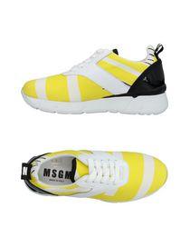 Course Chaussures De Sport Avec Logo Msgm QrCmXv