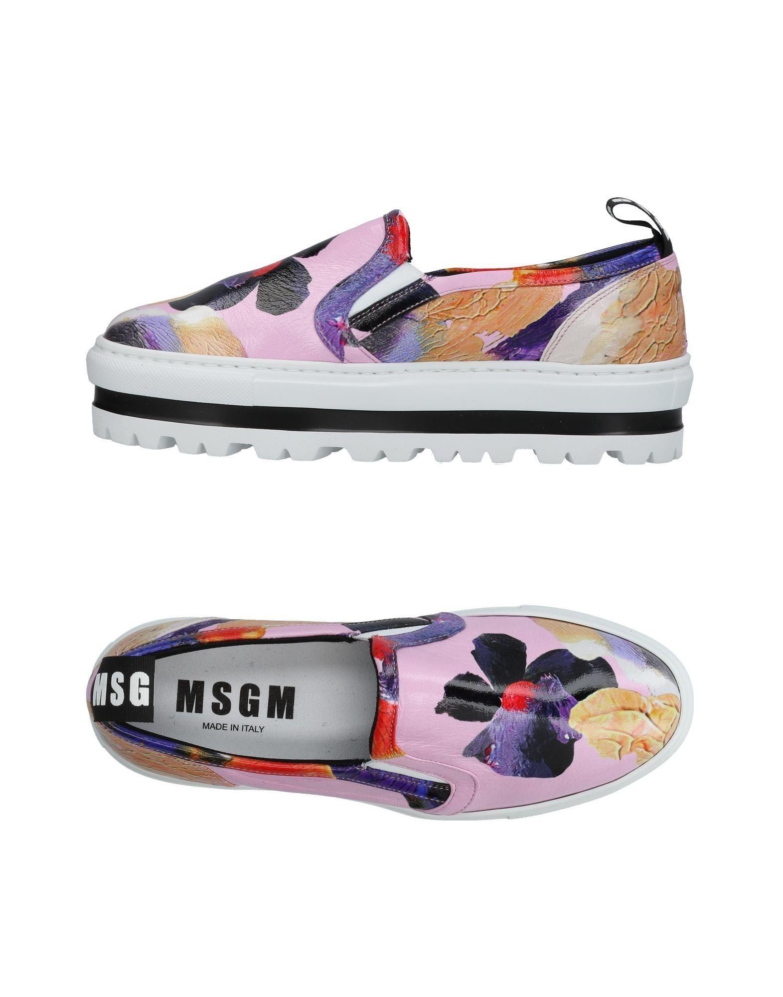 Msgm Sneakers Damen  11419118XKGut aussehende strapazierfähige Schuhe