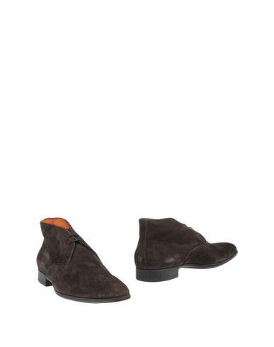 Zapatos con descuento Botín Santoni Hombre 11419146PT - Botines Santoni - 11419146PT Hombre Café 4ac6d2