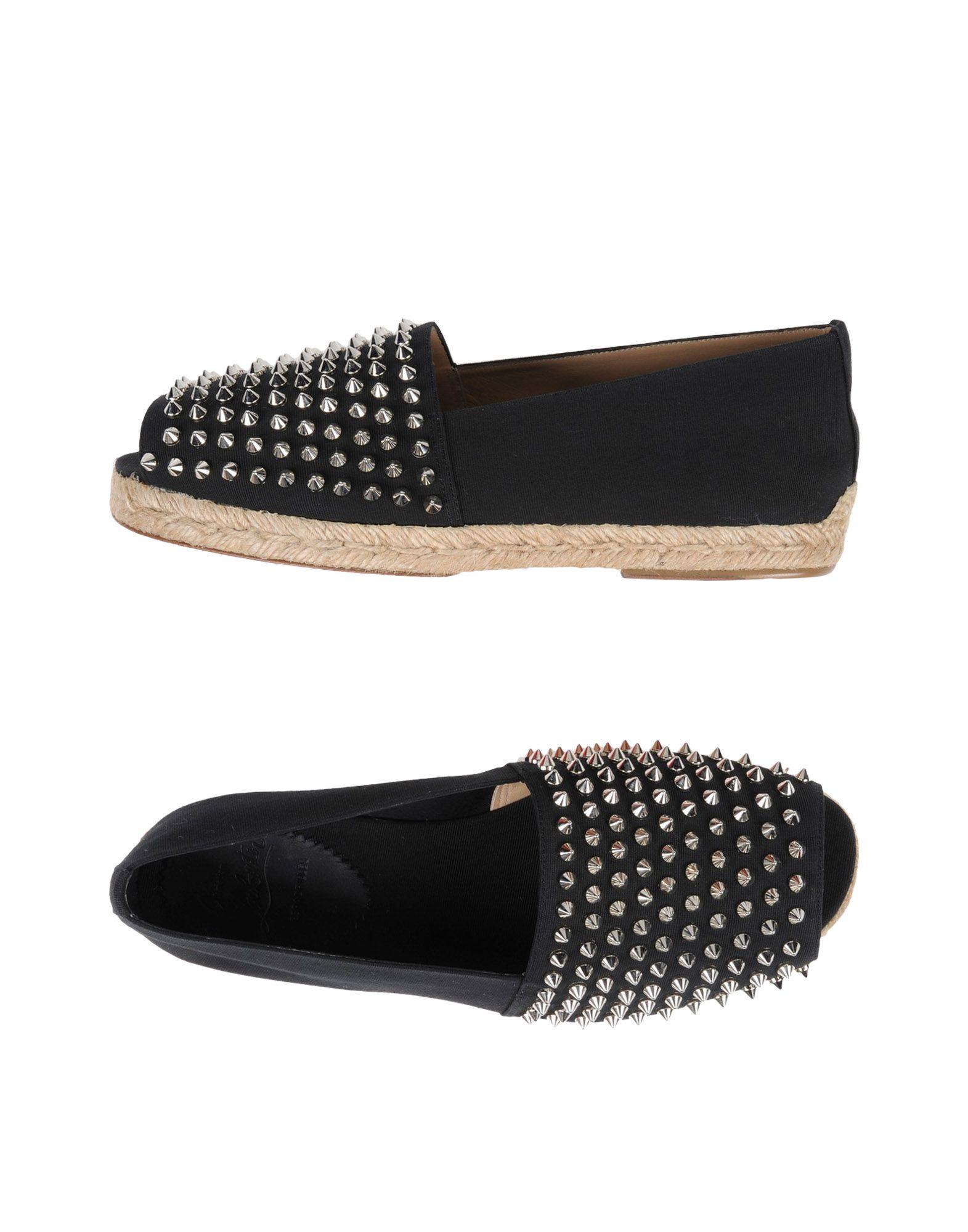 bas prix a157d 16bd3 CHRISTIAN LOUBOUTIN Espadrilles - Footwear | YOOX.COM