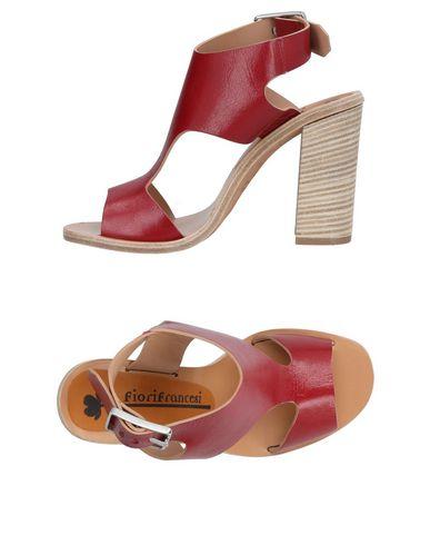 FIORIFRANCESI Sandals in Maroon