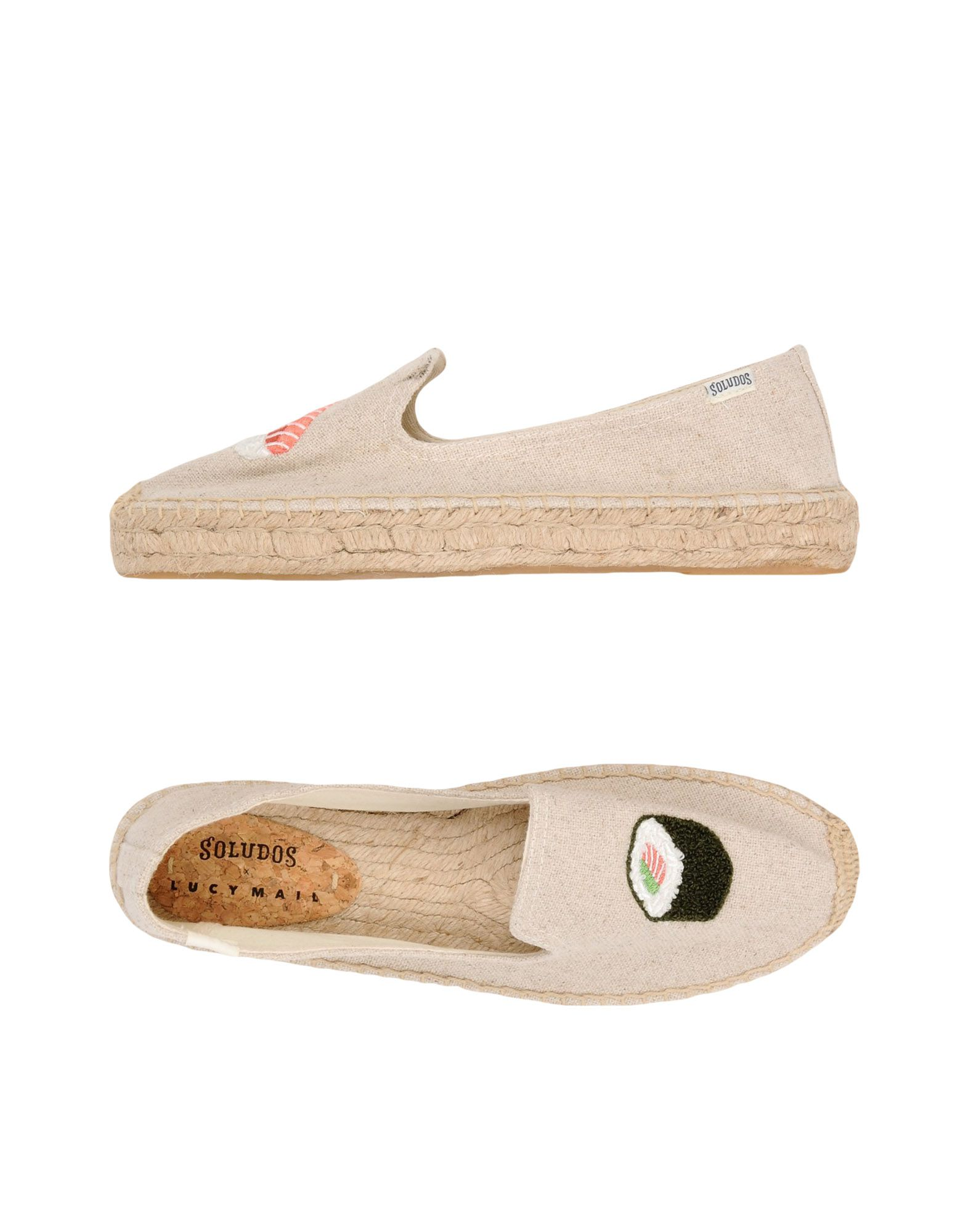 Espadrillas Soludos Sushi Platform Smoking Slipper - Donna - 11419521FR