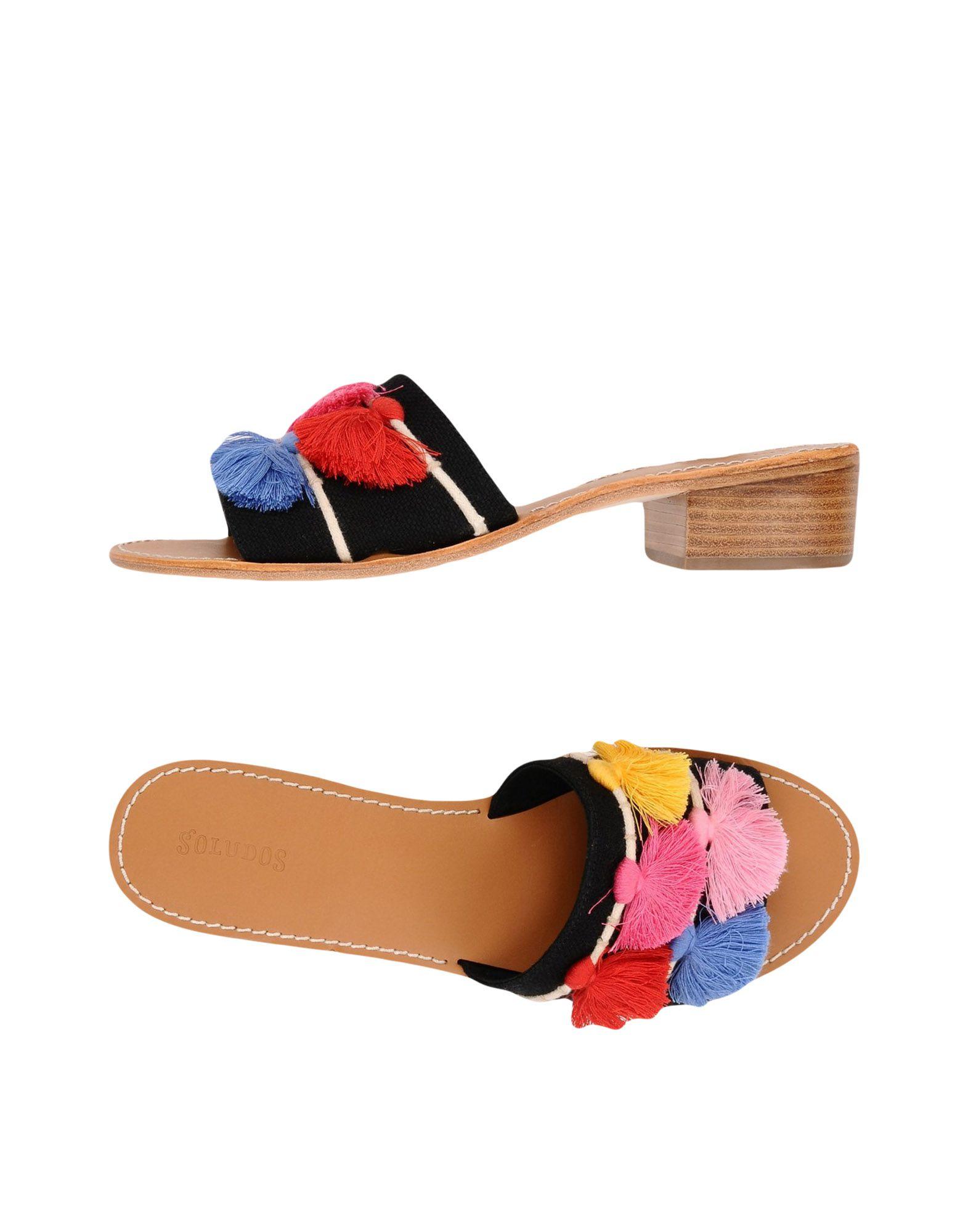 Stilvolle billige Schuhe Soludos Tassel City Sandal  11419531LN